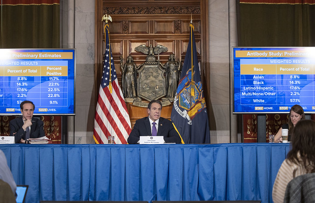 Governor Cuomo Announces State Health Department Will Partner with Attorney General James to Investigate Nursing Home Violations