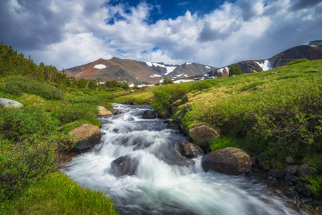 Rushing Waters at the Kuna Crest
