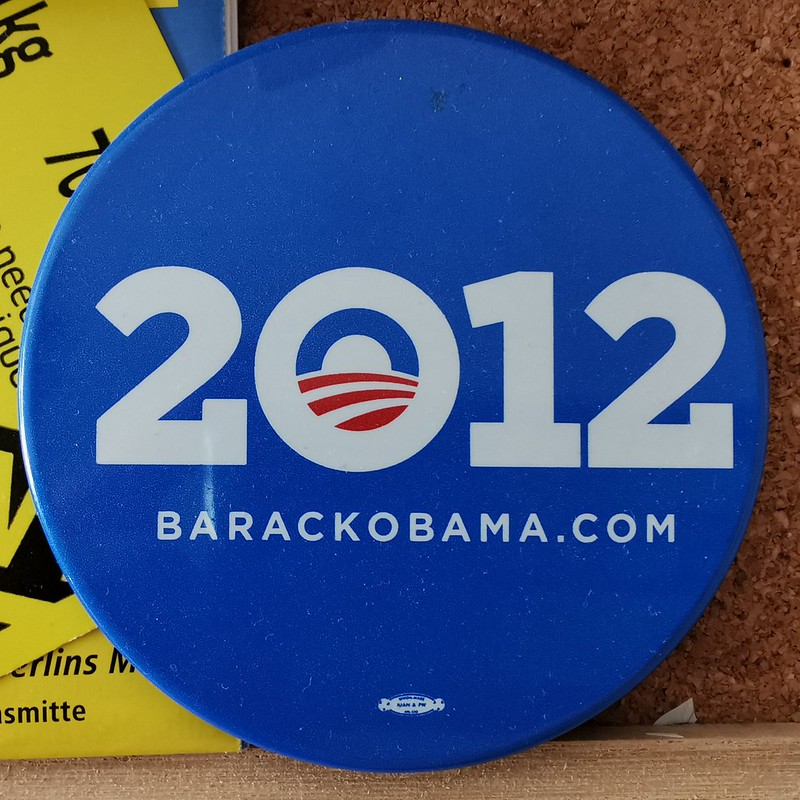 Barack Obama 2012 Button