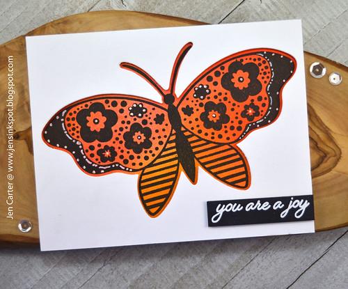 Jen Carter Wings of Joy Monarch Joy
