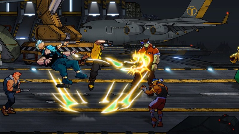 Streets of Rage 4 on PS4