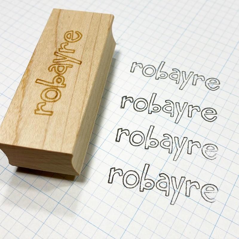 New Robayre stamp
