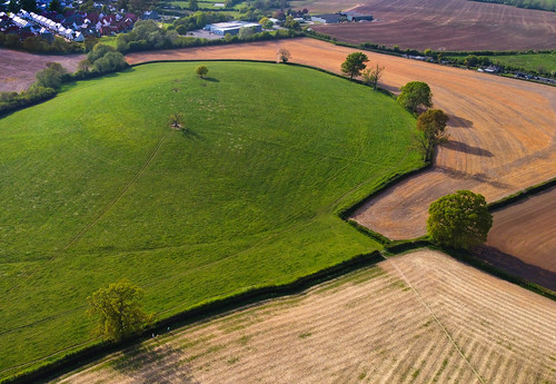 aerial aerialphotography mavicmini drone charfield southgloucestershire landscape fields colours gloucestershire mavic