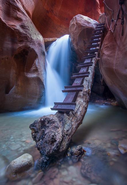 Kanarra Canyon stairway