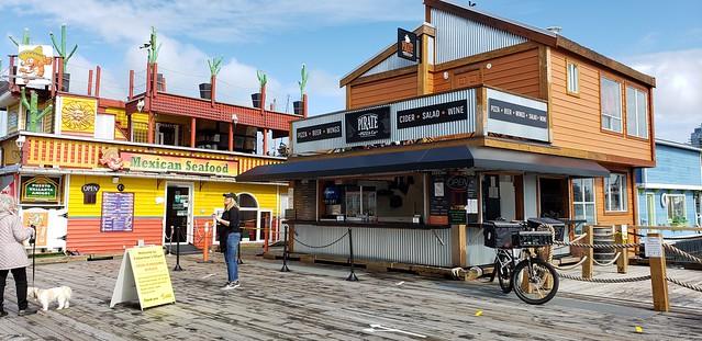 Pirate Pizza on Fisherman's Wharf