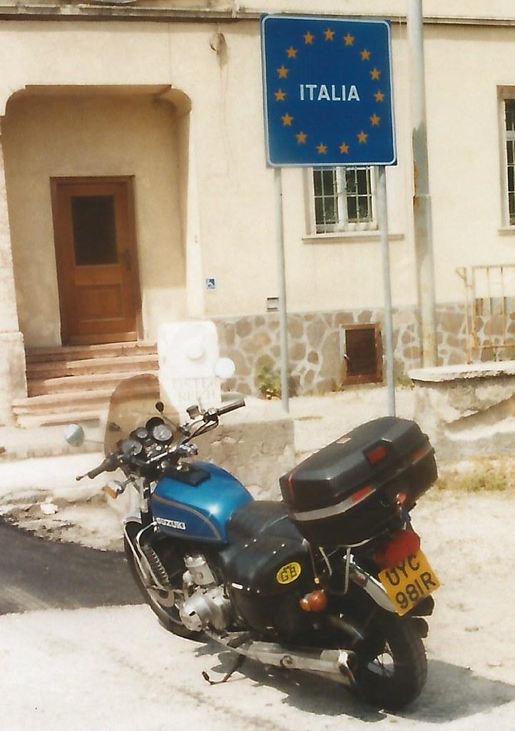 Italia Slovenia Border - May 1999