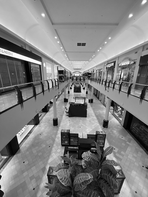 The Crabtree Valley Mall Raleigh NC.
