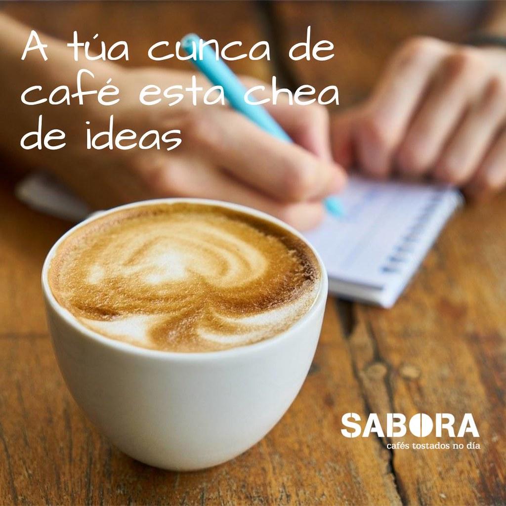 A túa cunca de café esta chea de ideas