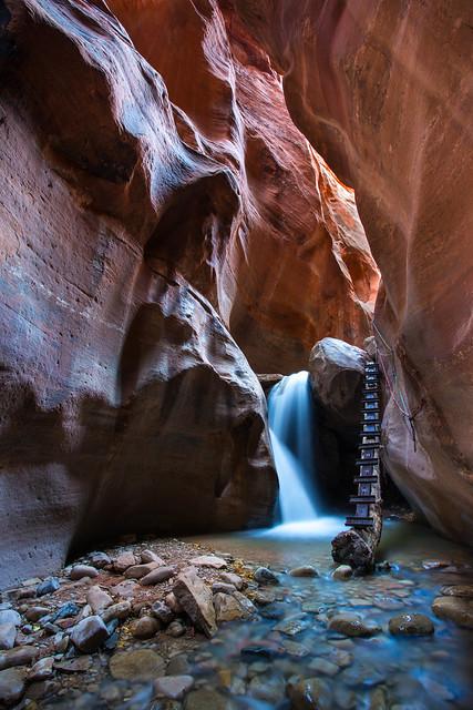 Kanarra Canyon Cascade