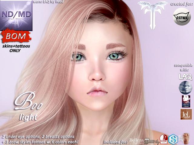 ND/MD Boo -light