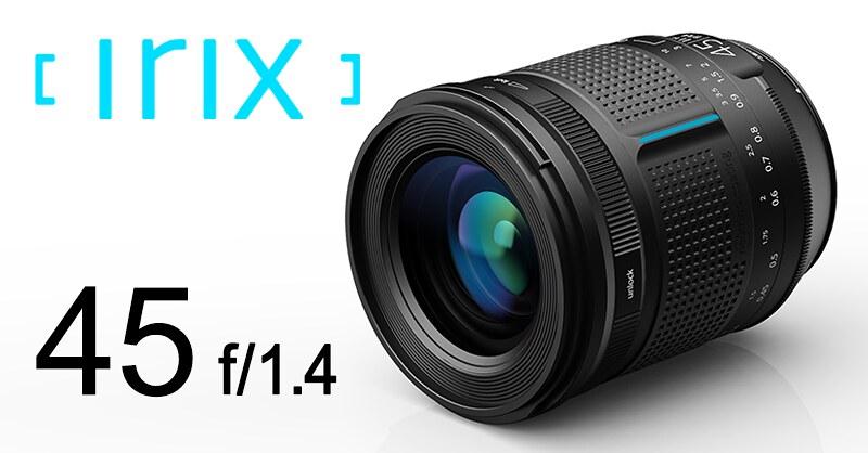 Irix announced its long-awaited 45mm F1.4 still lens for PENTAX K-mount!