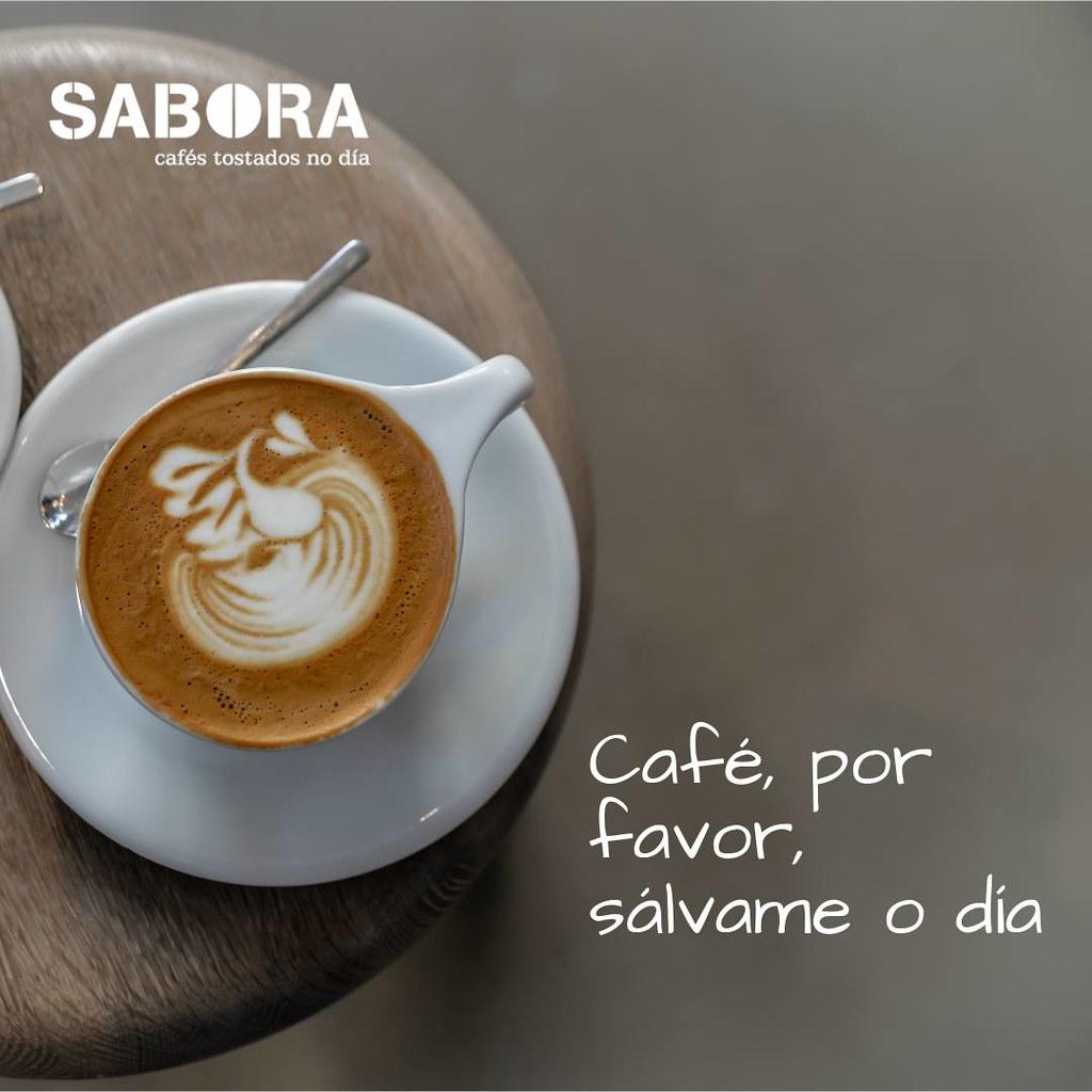 Café, por favor, sálvame o día