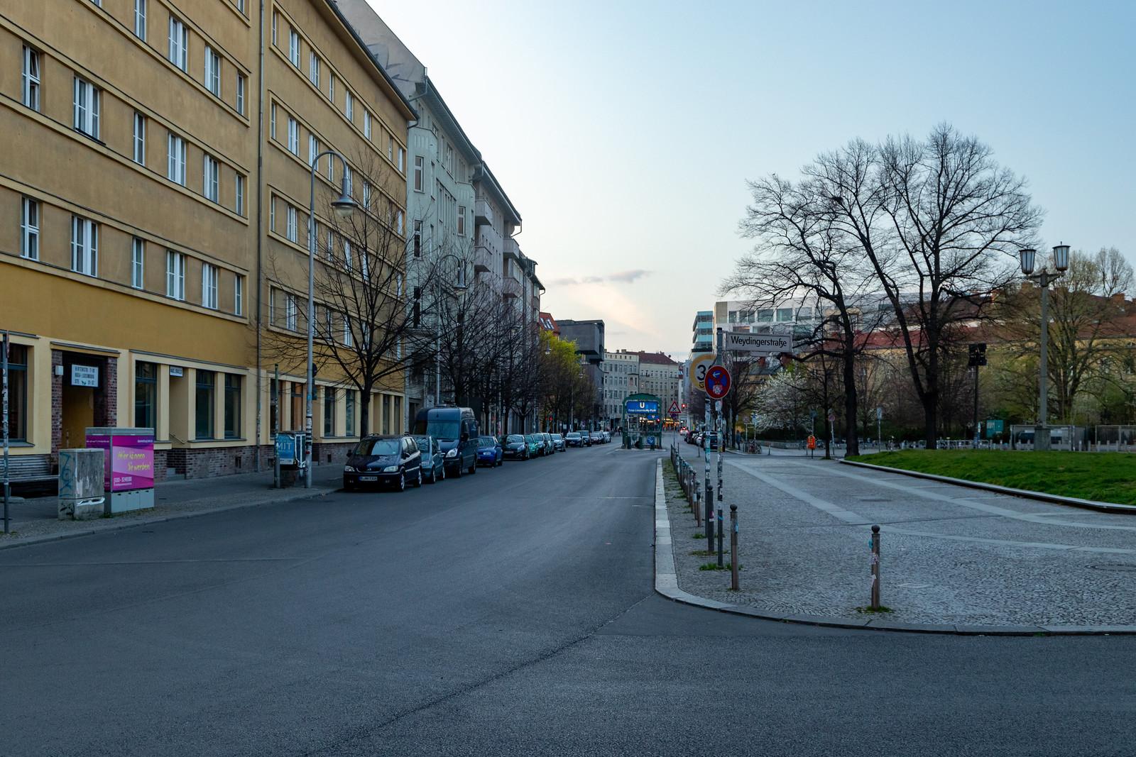 Der Rosa-Luxemburg-Platz