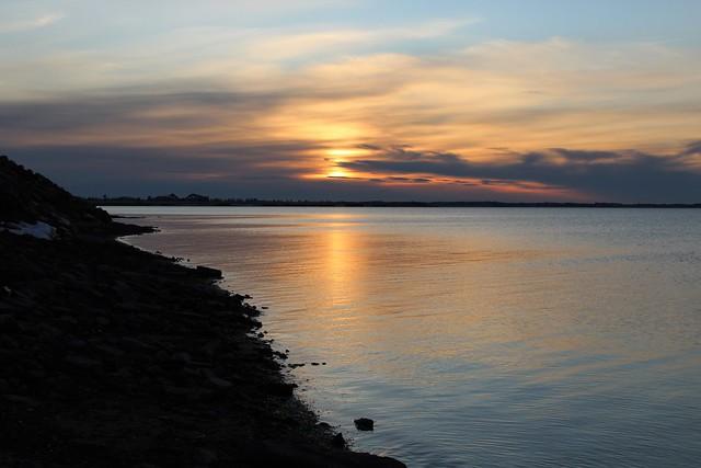 Sunset at Locke Shore