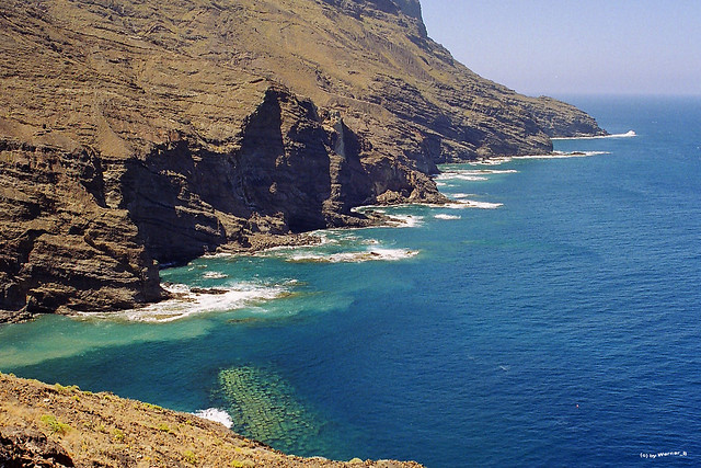 La Gomera, Playa de Alojera