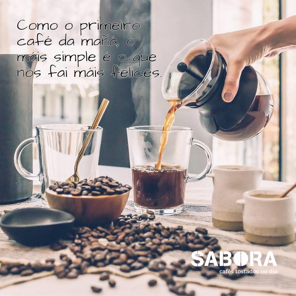 Como o primeiro café da mañá, o máis simple é o que nos fai máis felices.