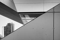 Zwei-Scheiben-Hochhaus, Baujahr 1973