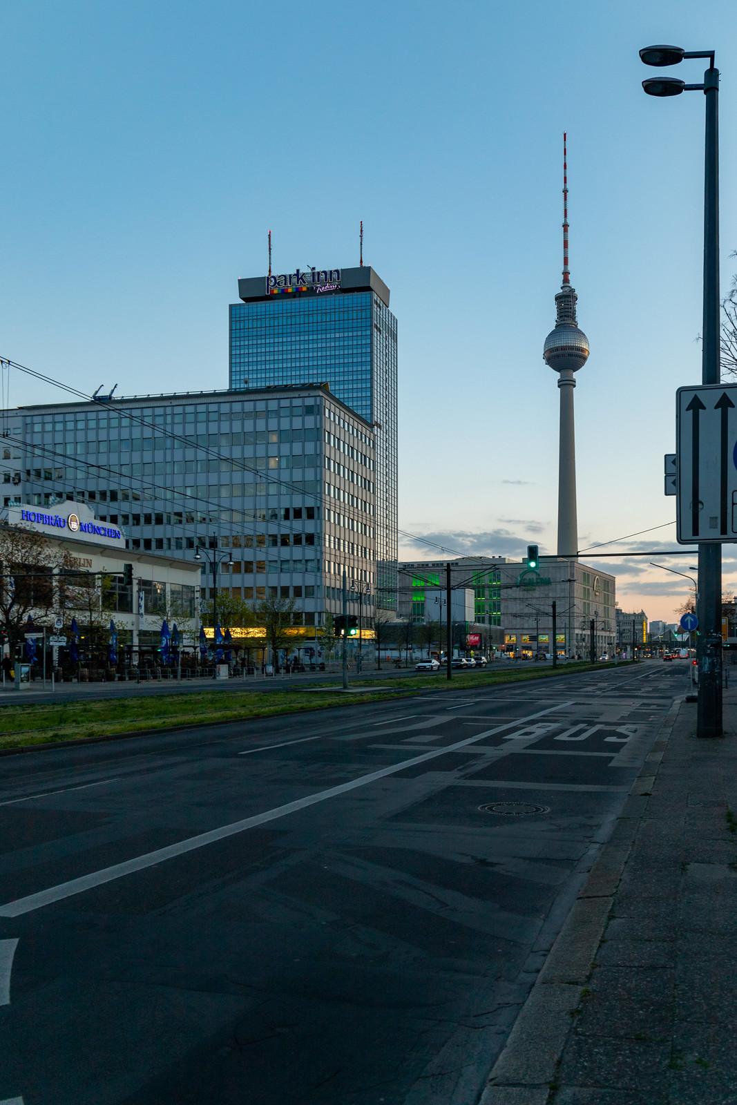 Die Karl-Liebknecht-Straße
