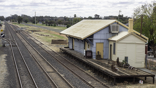 Nyngan Railway Precinct - Outback NSW - built 1880's - see below