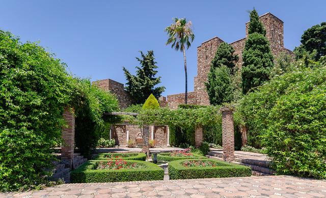 Gibralfaro castle (Alcazaba de Malaga), Malaga, Spain