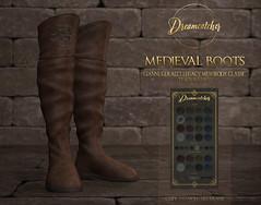 +Dreamcatcher+ Medieval boots - Male @ Fantasy Faire 2020