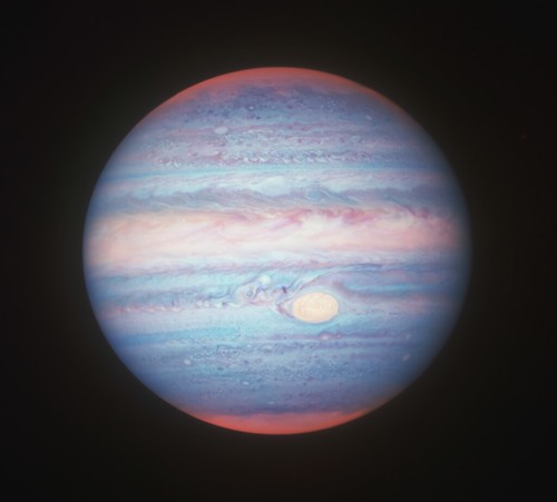 Jupiter 2019 Apr 09 (near-infrared) | by geckzilla
