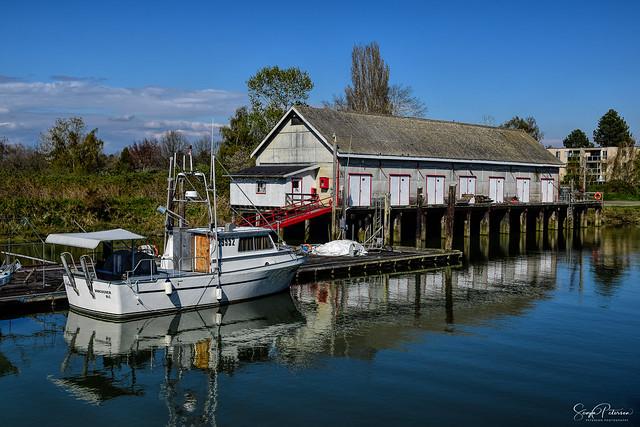 Historic Scotch Pond Boathouse c. 1899