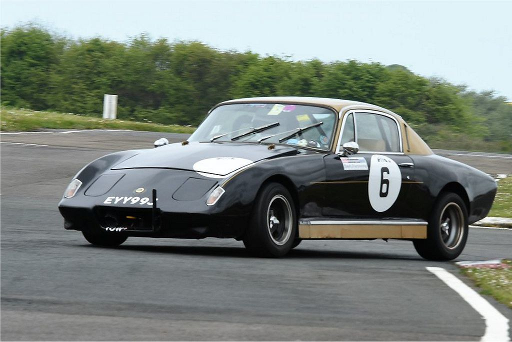 Andrew Webber's Elan +2 at Llandow (T Smith)