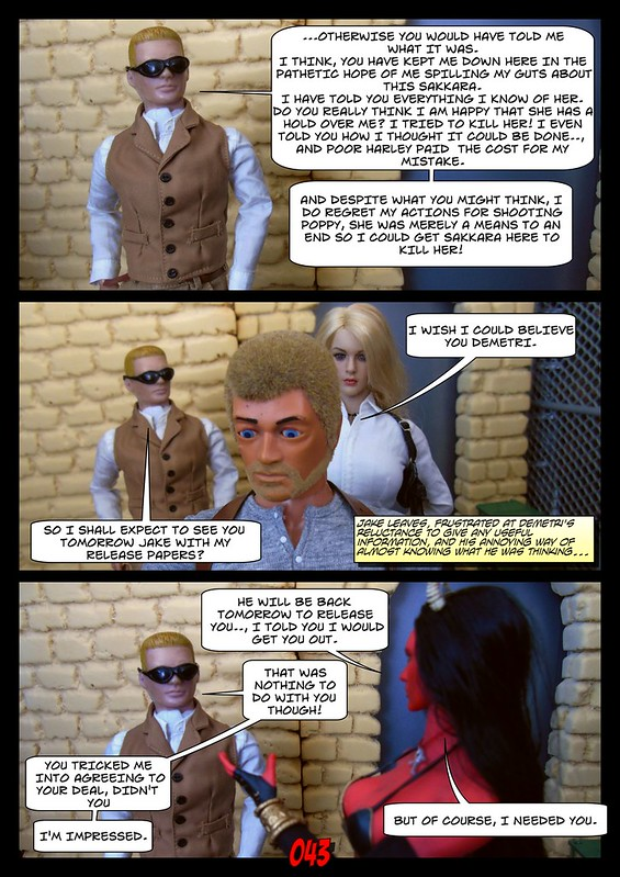 BAMComix - New Agent, New Problems - Chapter Three 49812247138_6327463958_c