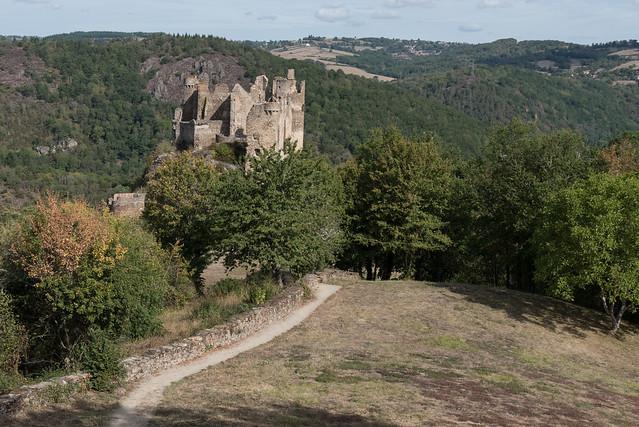 Château-Rocher de Saint-Rémy-de-Blot (Puy-de-Dôme, France)