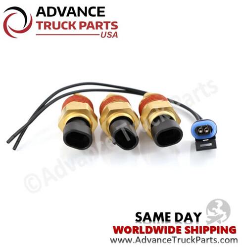 Advance Truck Parts Q21-1002 Peterbilt / Kenworth Differential Temperature Sender w/ Pigtail