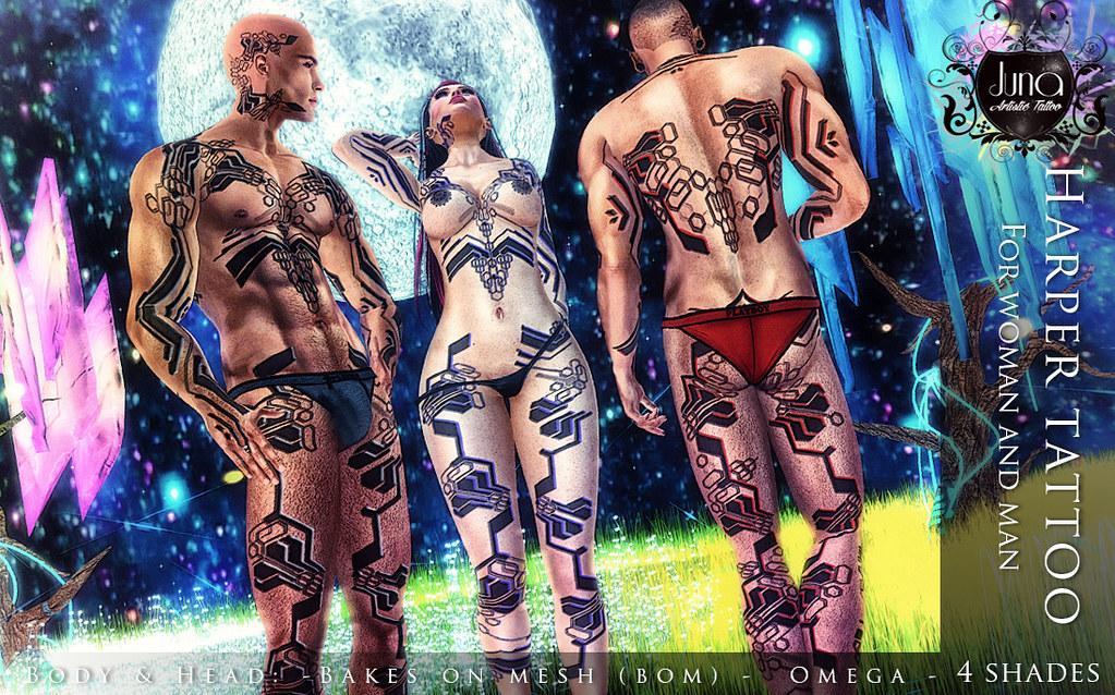 Harper tattoo Unisex