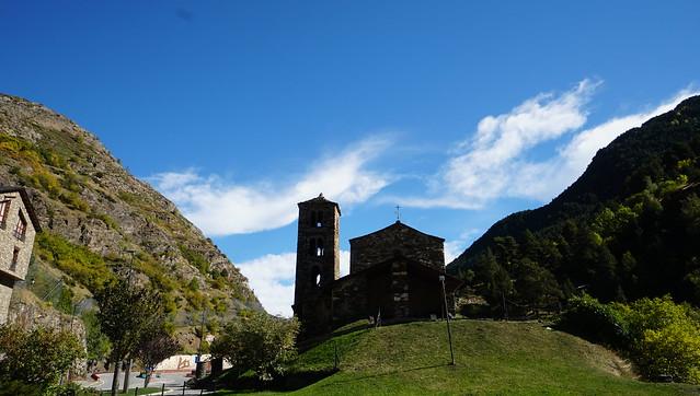 Església de Sant Serni de Canillo, Andorra