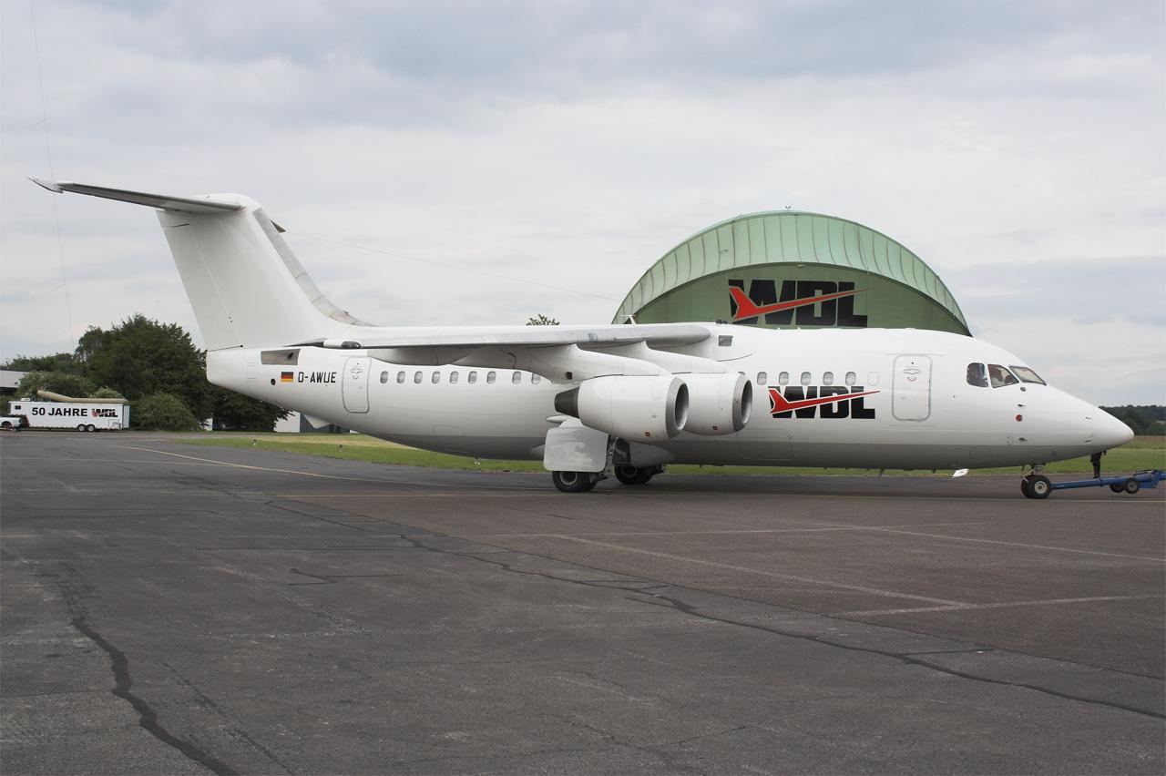 D-AWUE-1 BAE146 ESS 200506