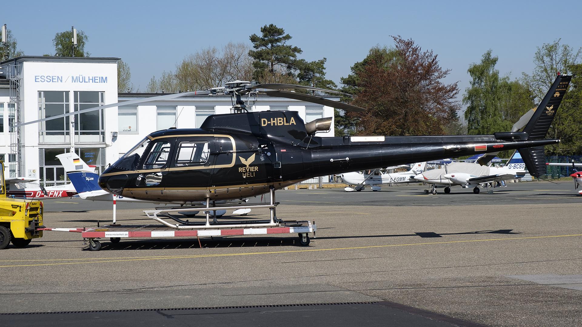 D-HBLA-1 AS350 DUS 201904