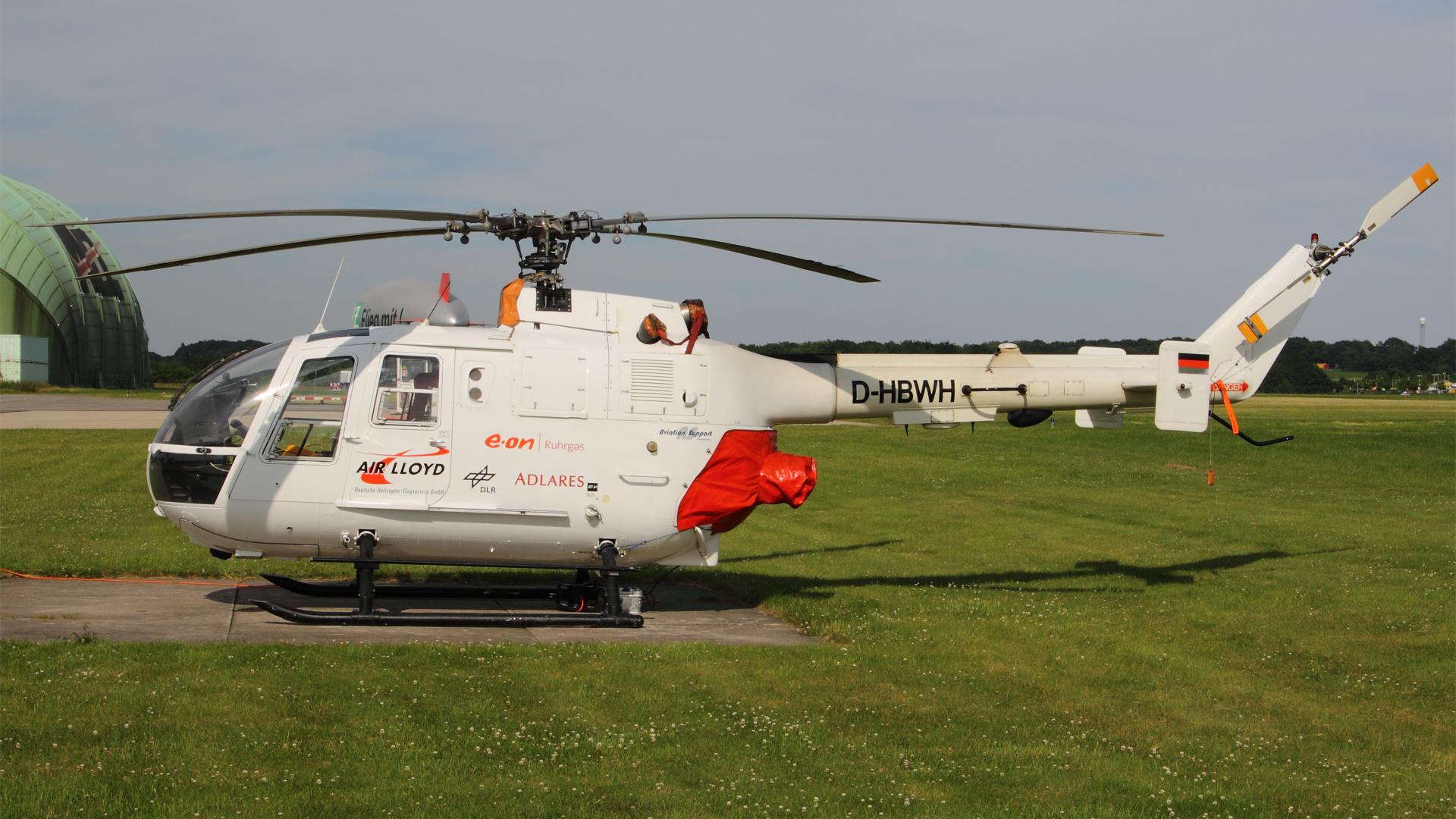 D-HBWH-1 BO105 ESS 201006