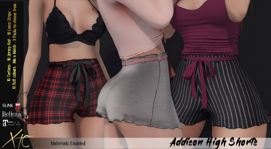Addison High Shorts – Miix Event –