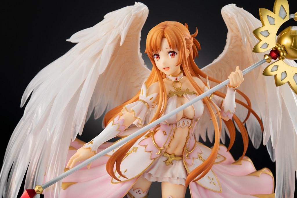 天使之翼唯美展開~eStream《刀劍神域Alicization WoU》亞絲娜、愛麗絲 天使 Ver. 1/7比例PVC塗裝完成品(アスナ / アリス -天使 Ver-)