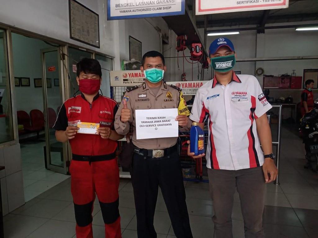 Yamaha Jawa Barat Peduli Polisi