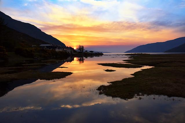 Little Loch Broom sunset