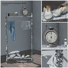 Serenity Style- Anchored in memory Rack