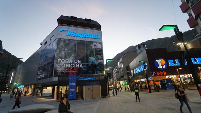 Shopping centers in Andorra la Vella, Andorra