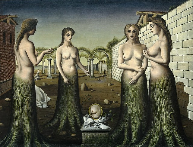 Paul Delvaux, Der Tagesanbruch -The break of day