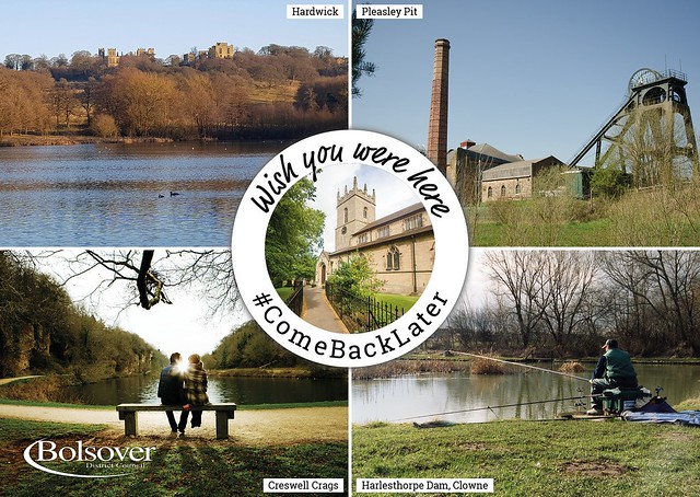 Postcards of Bolsover District