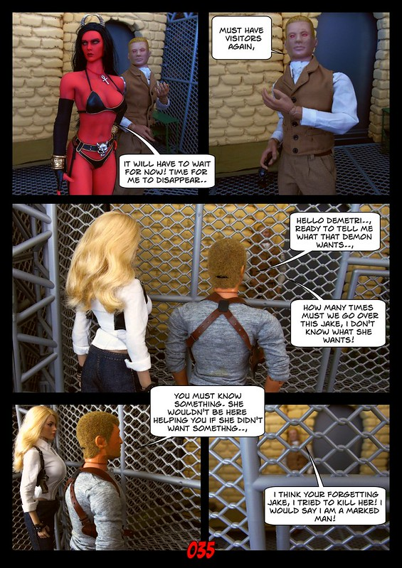 BAMComix - New Agent, New Problems - Chapter Three 49813096407_02f0843819_c