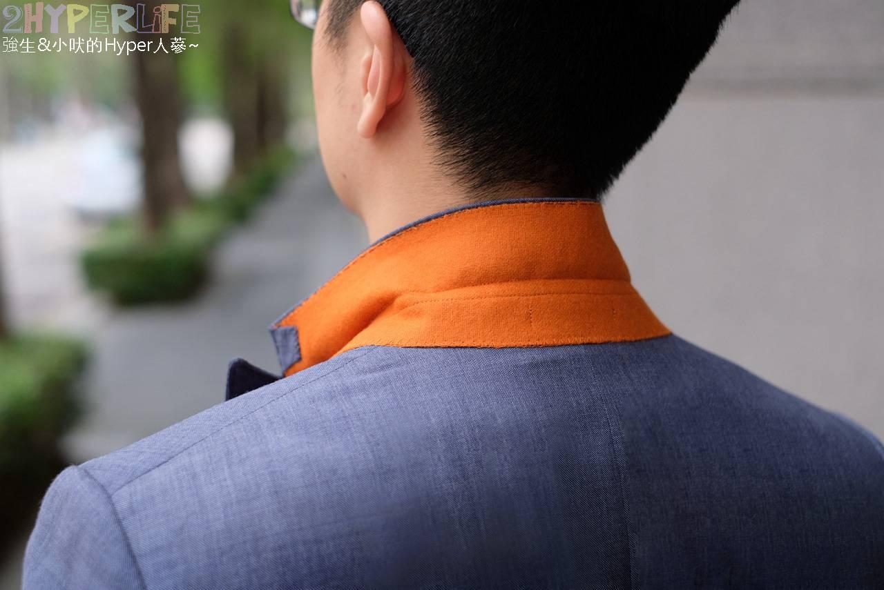 型男穿搭日記│套上EZ西服的量身訂製西裝帥到一個不要不要,自動變身金牌特務模式!西服訂做全記錄~ @強生與小吠的Hyper人蔘~