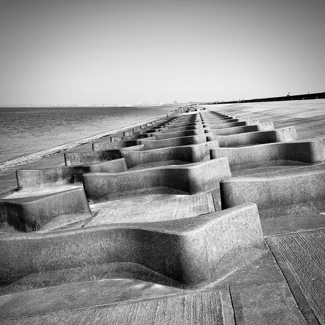 Sea defences and social distancing...HSS.