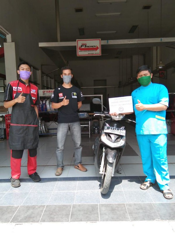 Yamaha Jawa Barat Peduli Perawat