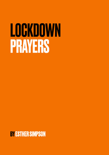 The front cover of Lockdown Prayers