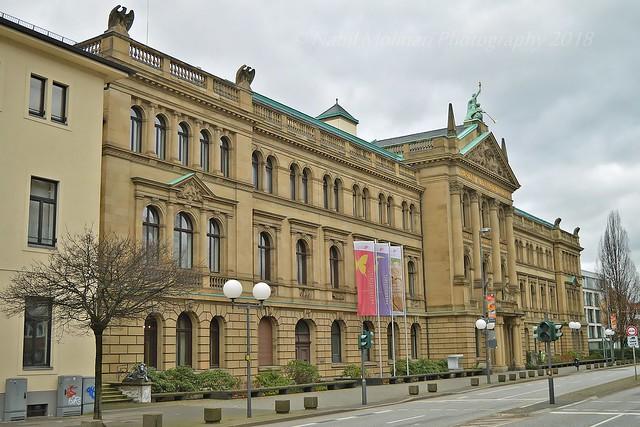 Cityscape : Alexander Koenig Research Museum